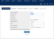 program mksiegowa - panel użytkownika